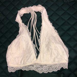 Golly hicks lace bra white